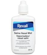Brume nasale saline de Rexall