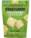 FreeYumm Herb & Seed Crackers