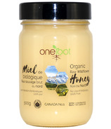 OneRoot Organic Raw Wildflower Honey