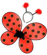 Great Pretenders Ladybug Wings and Headband
