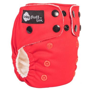 Funky Fluff Newborn Diaper System Love Bug