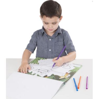 Melissa & Doug ABC Dot-to-Dot Farm Coloring Pad