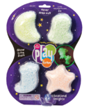 Educational Insights Playfoam Glow In The Dark 4-Pack
