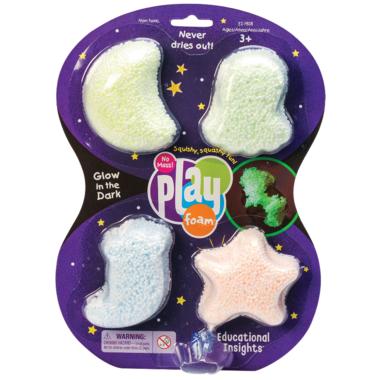 Educational Insights Playfoam Glow In The Dark 4-Pack