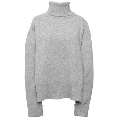 Boob Jamie Knit Sweater Grey Melange