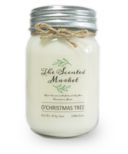 The Scented Market Soy Wax Candle O'Christmas Tree