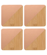 Danica Studio Coaster Dipped Angle Coaster Set Copper