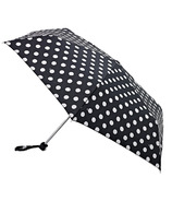 Fulton Miniflat-2 Umbrella White Spot
