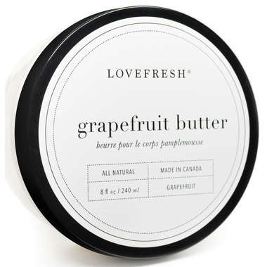 Lovefresh Grapefruit Body Butter