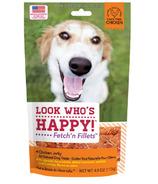 Look Who's Happy Fetch'n Fillets Chicken Jerky