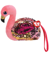 Ty Fashion Gilda The Flamingo Sequin Wristlet