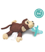 """babyworks Pacifier Friend with Pacifier """"Moe"""" Monkey"""