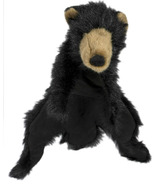Hugglehounds Plush Durable Squeaky Clyde the Bear Dog M Dog Toy