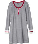 Hatley Little Blue House Long Sleeve Nightdress Canadiana Work Sock