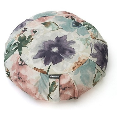 Halfmoon Round Meditation Cushion Wildflower