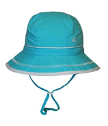 Calikids Quick-Dry Bucket Hat Extra Wide Brim Aqua