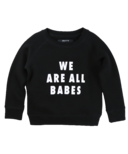 BRUNETTE the Label We are All Babes Crew Black