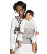 Lillebaby Complete Embossed Luxe Baby Carrier Pewter