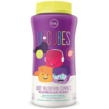 SISU U-Cubes Multivitamin Gummies