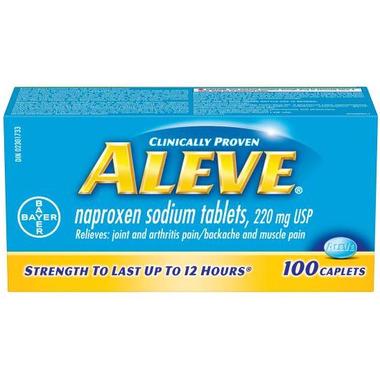 Aleve 220 mg Large Bottle