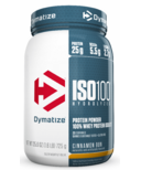 Dymatize ISO100 Hydrolyzed Protein Powder Cinnamon Bun