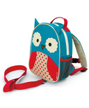 Skip Hop Zoo Safety Harness Mini Backpack With Rein Owl