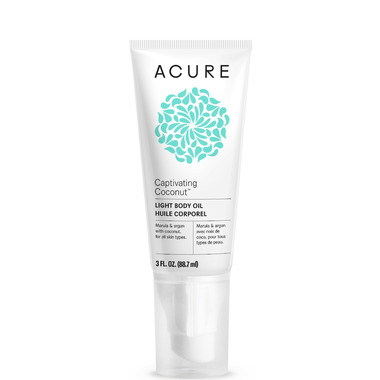 Acure Captivating Coconut Light Body Oil