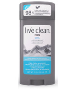 Live Clean Mens Deodorant Cool