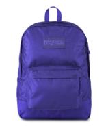 JanSport Mono Superbreak Backpack Violet Purple