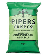 Pipers Crisps Burrow Hill Cider Vinegar and Sea Salt Crisps