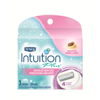 Schick Intuition Plus Advanced Moisture Replacement Blades