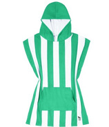 Dock & Bay Kid's Mini Quick Dry Poncho Cancun Green