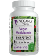 Veganly Vitamins Vegan Multivitamin