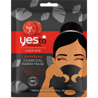 Yes To Tomato Charcoal Paper Mask