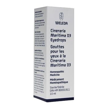 Weleda Cineraria Maritima D3 Eyedrops
