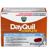 Vicks DayQuil COMPLETE Cold & Flu Relief