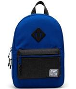 Herschel Supply Heritage Kids Backpack Surf The Web and Black Crosshatch