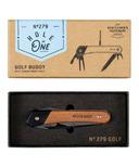Gentlemen's Hardware Golf Multi Tool Wood Handles Titanium Finish