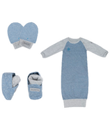 Juddlies Raglan Collection Newborn Bundle Denim Blue