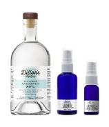 Dillon's Small Batch Distillers Alcohol Antiseptic + Reusable Bottle Bundle