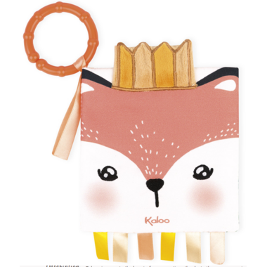 Kaloo The Angry Fox Soft Activity Book