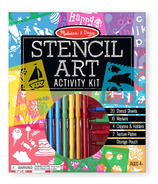 Melissa & Doug Stencil Art Activity Set