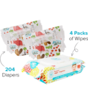 The Honest Company Into the Wild Print Diapers & Wipes Bundle Size 3