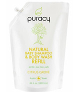 Puracy Natural Baby Shampoo & Body Wash Refill