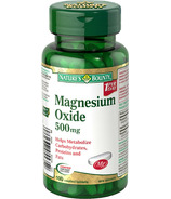 Nature's Bounty Magnesium Oxide
