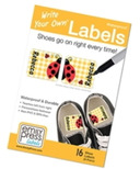 Emily Press Labels Shoe Labels Ladybugs
