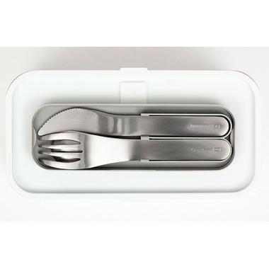 Monbento MB Pocket Cutlery Set Stainless Steel Blush
