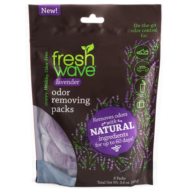 Fresh Wave Odour Removing Packs Lavender