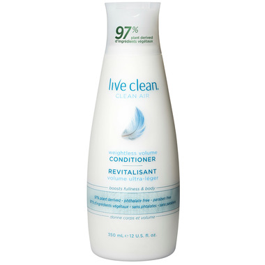 Live Clean Weightless Volume Conditioner