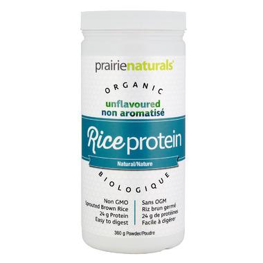 Prairie Naturals Organic RiceProtein Simply Natural